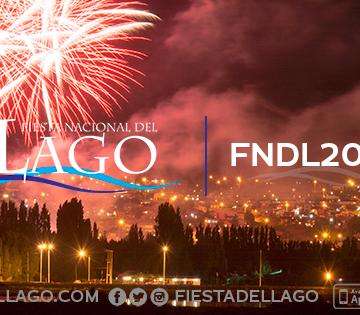 Grilla oficial:  7ma. Fiesta Nacional del Lago 2019