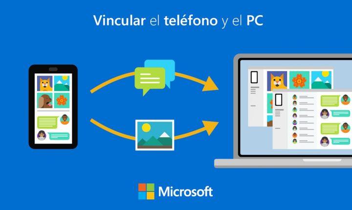 Windows 10 se conecta a tu teléfono Android con esta app