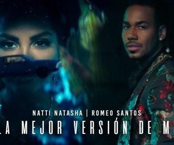 Natti Natasha y Romeo Santos presentaron «La mejor versión de mí»