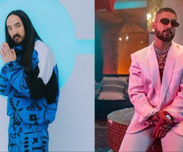 Maluma y Steve Aoki estrenaron «Maldad» y se convierte uno de los hits del verano