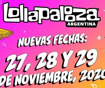 Fecha confirmada: Lollapalooza se reprogramó para el 27 al 29 de noviembre en San Isidro