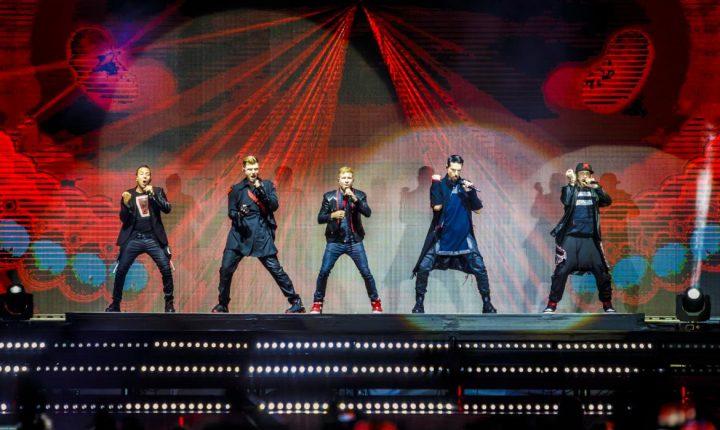Backstreet Boys en Argentina: hizo bailar a más de 30 mil fanáticos en el Campo Argentino de Polo