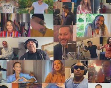Cantantes latinos se unen en una nueva versión de «Color esperanza»
