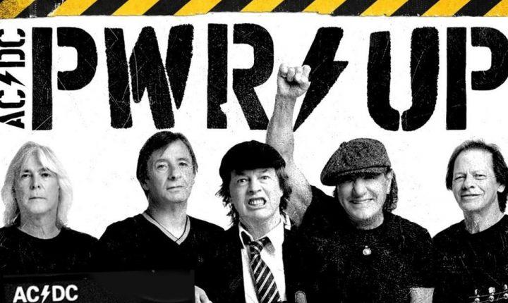 Con la vuelta de Brian Johnson, AC/DC anunció nuevo disco: «PWR/UP»