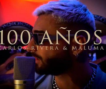 Maluma y Carlos Rivera presentan su nuevo single «100 años»