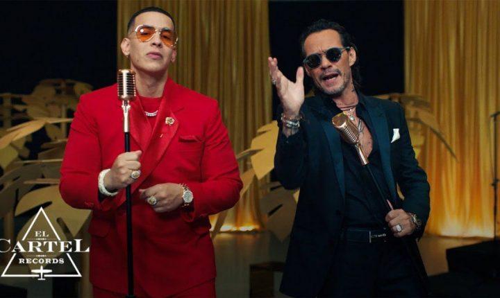 Daddy Yankee a puro salsa y en duo con Marc Anthony